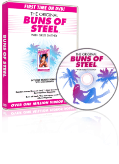 dvd buns of steel not available in stores